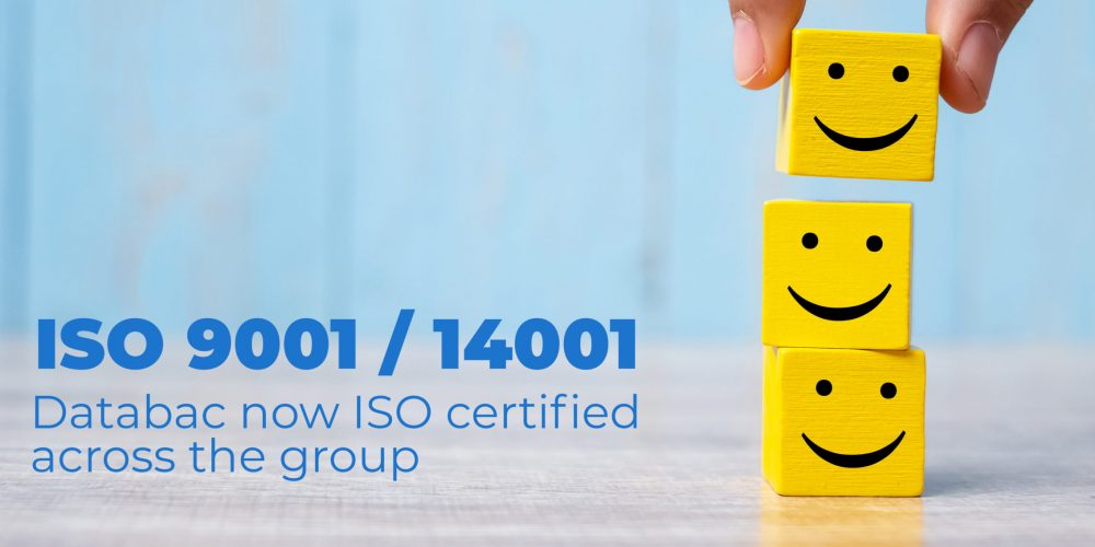 Databac now ISO certified across the group